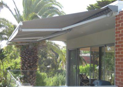 Deck-awning
